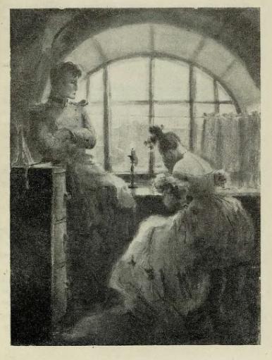 Татьяна Шишмарёва, «Германн и Лиза после смерти графини», 20 век