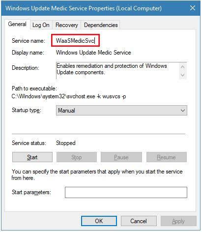 chặn update windows 10