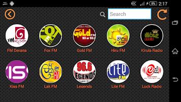 Screenshot of Sri Lanka Radio