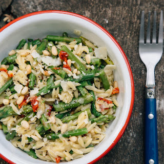 Asparagus One Pot Orzo