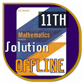 RD Sharma Class 11th Math Solutions (offline)