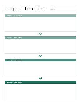 Project Tasks - Vertical Timeline item