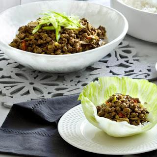 Beef San Choy Bao.