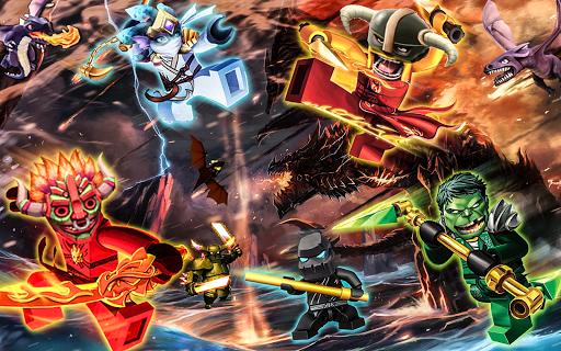 Clash Ninjago Guardian Frozen