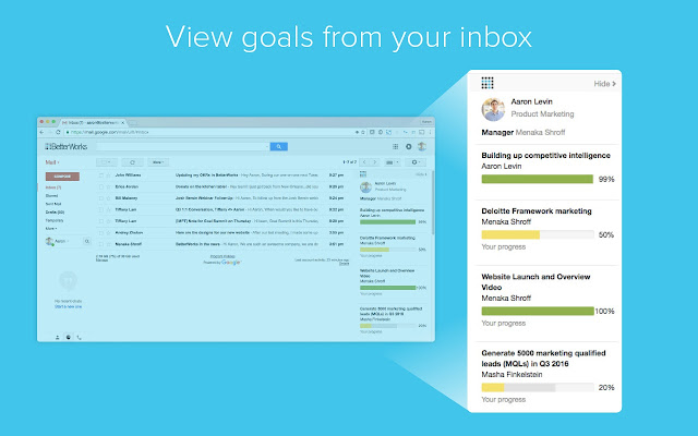 Betterworks for Gmail