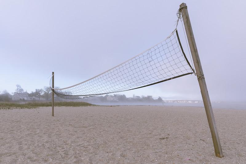 Spiaggia con rete di Dario Lo Presti