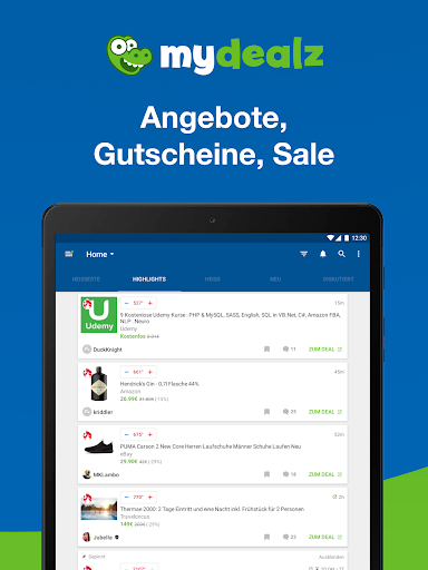 mydealz u2013 Gutscheine, Schnu00e4ppchen, Angebote, Sale 5.26.11 screenshots 7