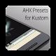 AHX Presets for Kustom / KLWP v2.49
