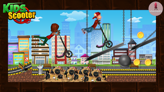 Scooter Kids Screenshot