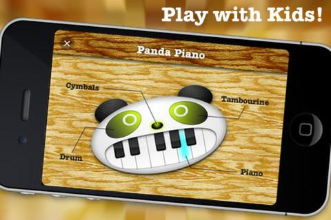 Panda Piano- screenshot