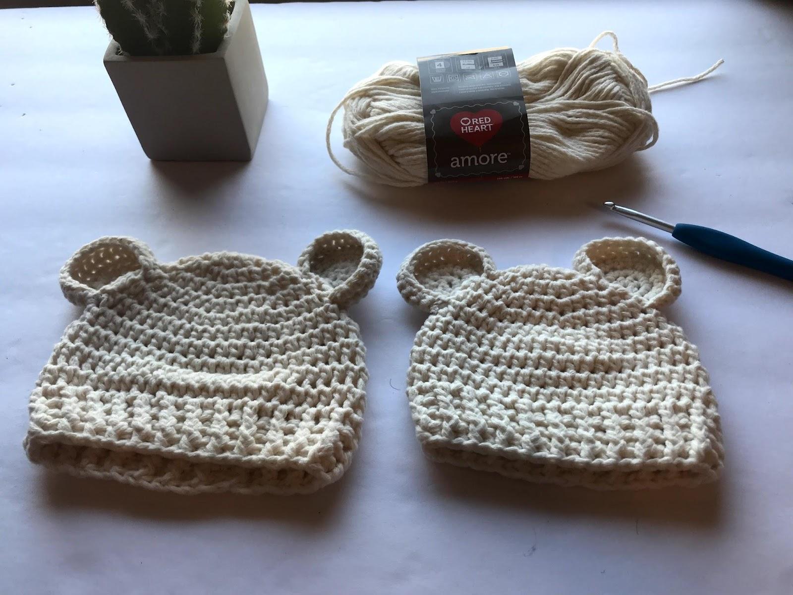 Baby Bear Beanie Crochet Pattern Crochet It Creations