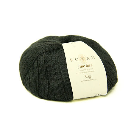 Rowan - Fine Lace, Charcoal Grey 929