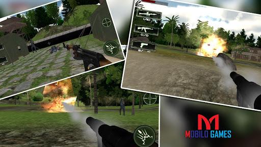 突击队员罢工:战:射击:战争:Commando Strike