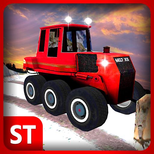 실제 겨울 눈 트럭 운전사 模擬 App LOGO-硬是要APP