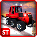 Real Winter Snow Truck Driver icon