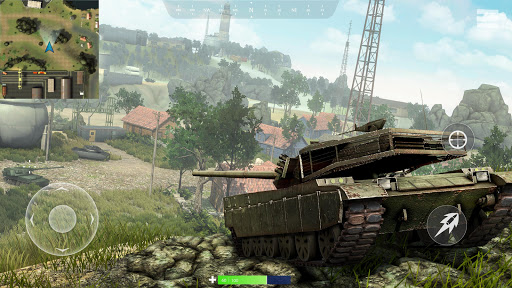 Télécharger Gratuit War of Tanks: PvP Blitz APK MOD (Astuce) screenshots 1
