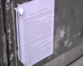 Photo: Printed out and stuck up in Soho.