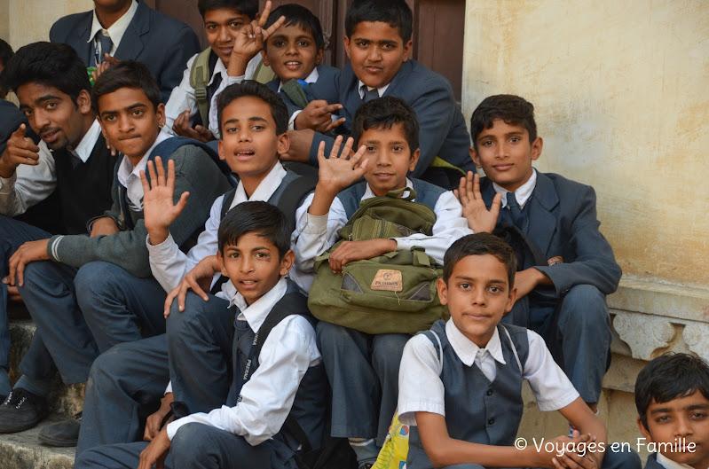 Kumbhalgarh collégiens
