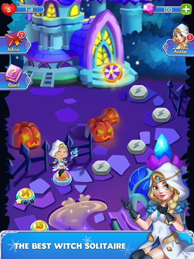 Solitaire - Wonderland Adventure - screenshot