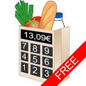 Shopping list calculator free icon