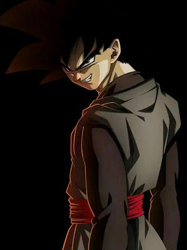 Black Goku Super Saiyan Rose HD Offline screenshot 7