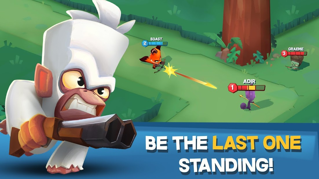 Zooba: Free-for-all Battle Royale Games Android App Screenshot