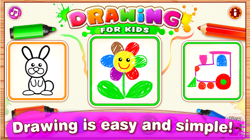 Drawing for Kids Learning Games for Toddlers age 3  11