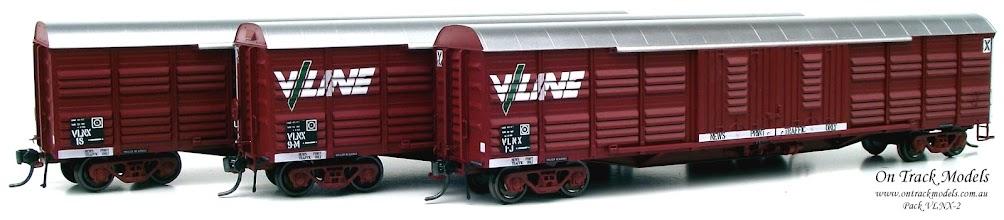 Photo: Pack VLNX-2 VLNX 1J (V/Line), VLNX 9M (V/Line), & VLNX 18 (VR)