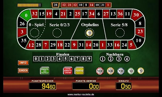 Merkur Roulette- screenshot thumbnail