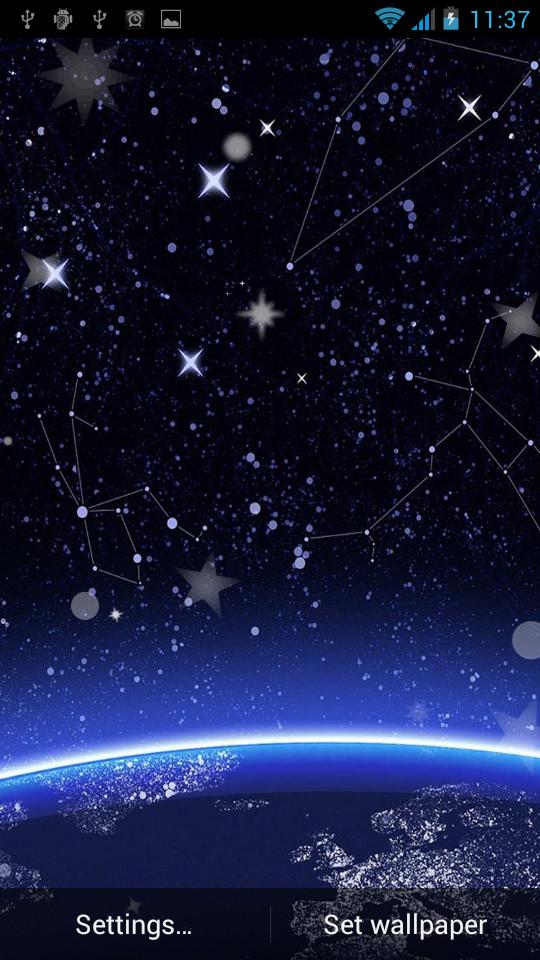 Скриншот Звезды Живые Обой