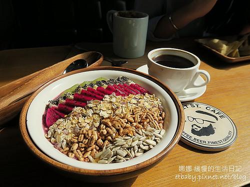 堤貝街咖啡 Tibet St. Coffee~隱密舒適的小店 • 巴西莓果碗