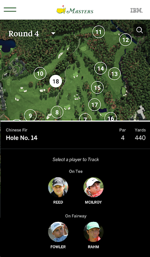 The Masters Golf Tournament screenshot 6