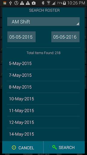 Work Roster 1.011 screenshots 4