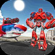 Swat Robot Shark Evolution Wars - Shark Tank Games