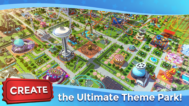 RollerCoaster Tycoon Touch - Build your Theme Park Screenshot 0