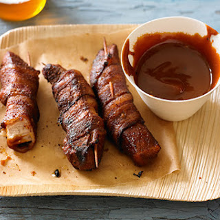 Bacon-Wrapped Pig Wings.