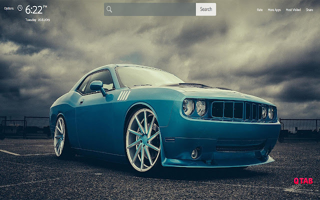 dodge Wallpapers Theme |GreaTab