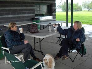 Photo: Parc Laviolette T-R: Le café est nécessaire pour se réchauffer