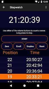 Stopwatch & Scanner - náhled
