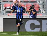 Michael Krmencik a marqué deux buts pour le Club de Bruges ce dimanche