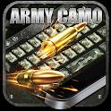 Army Camo Keyboard icon