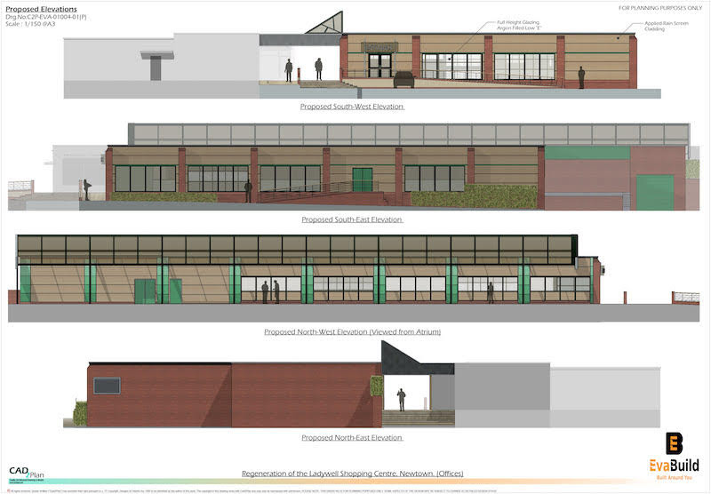 Visuals revealed for redeveloped Ladywell Shopping Centre