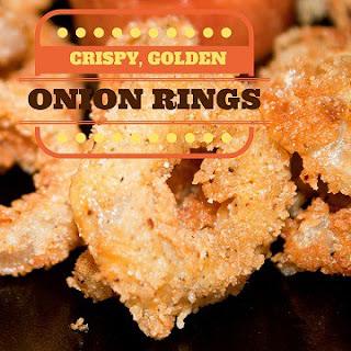 Crispy, Golden Onion Rings