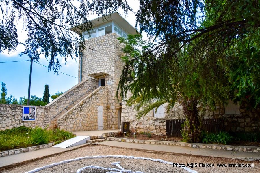 Форпост Бирия. Экскурсии в Израиле.