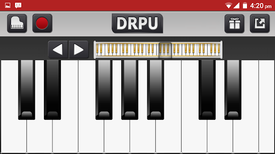 Piano App: FM Electric Digital - náhled