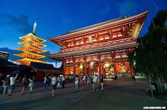 Photo: The Kaminorimon Gate - the entrance to Sensoji Temple in Asakusa, Japan