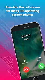 Fake call, prank call style OS PhoneX App Download For Android 1