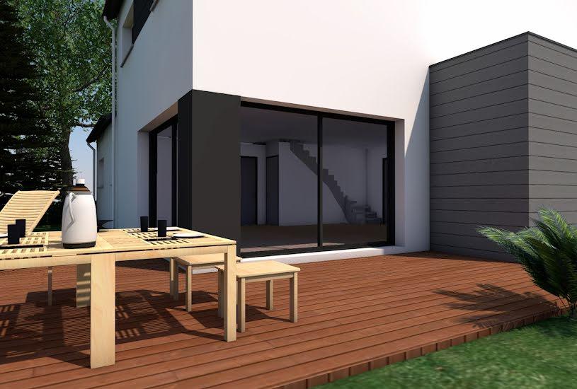 Vente Terrain + Maison - Terrain : 365m² - Maison : 125m² à Saint-Herblon (44150)