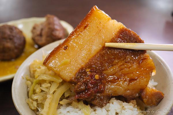 南豐魯肉飯。油香肉嫩,用整塊滷肉告訴你這就是高雄味!/自強夜市美食小吃/苓雅夜市美食小吃