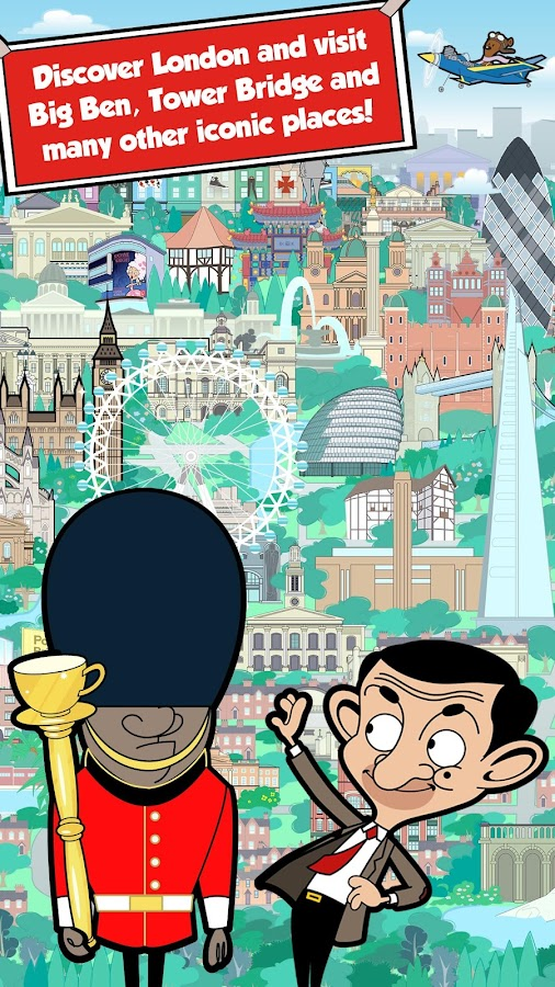 Play London with Mr Bean- screenshot